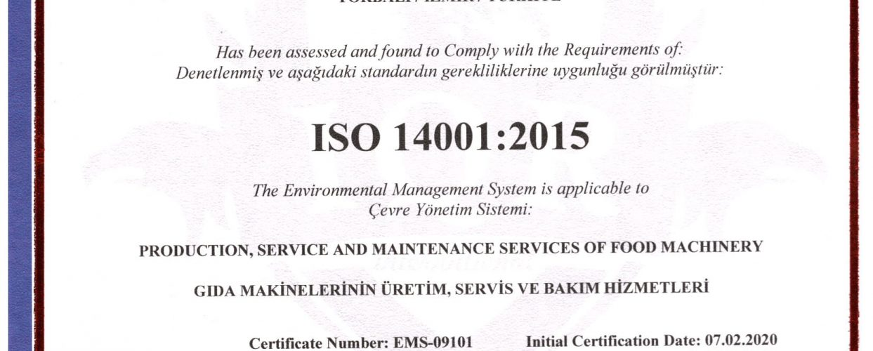 GENBOY ISO 14001-1